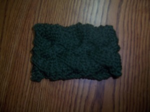 Woven Cable Cup Cozy