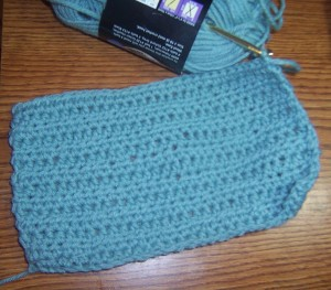 slipper in progress