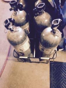air tanks(picture taken by me)