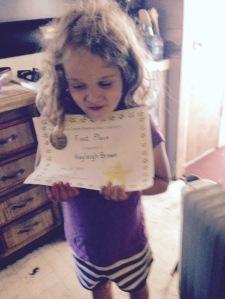 1st grade spelling bee champion