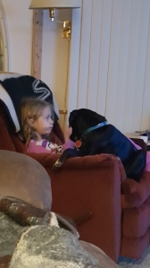 He loves sitting with her for reading time at night.